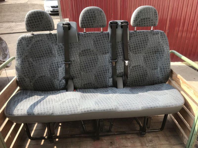 Sitzbank 2. Reihe 3-Sitzer Stoff grauFORD TRANSIT BUS